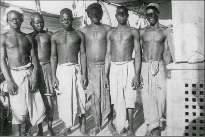 «Товар» работорговца, пойманного более 100 лет назад (4 фото)