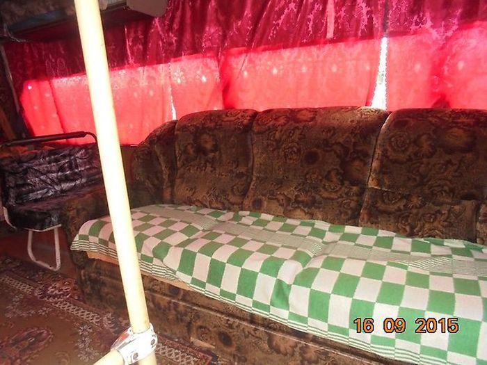Настоящий домашний уют в обычном автобусе ПАЗ (7 фото)