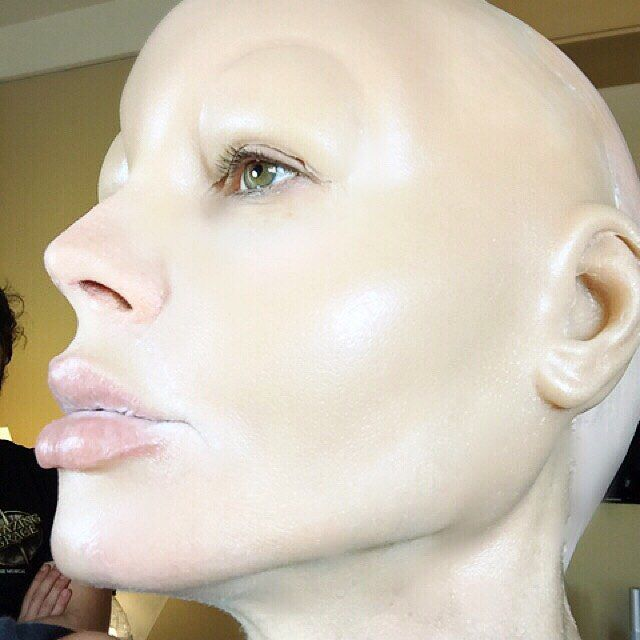 Хайди Клум в образе Джессики Рэббит (15 фото)