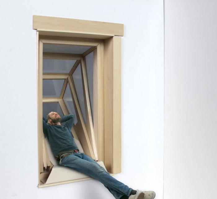 Окно, которое превращается в балкон (8 фото)