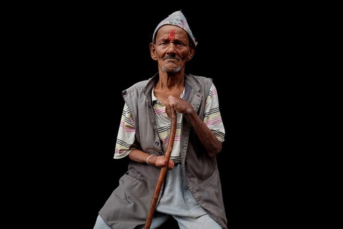 Обитатели колонии прокаженных в Непале (24 фото)