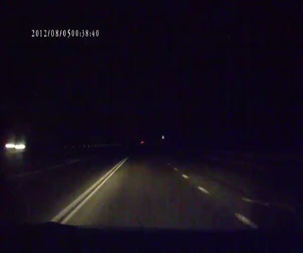 Падение метеорита в Калининграде