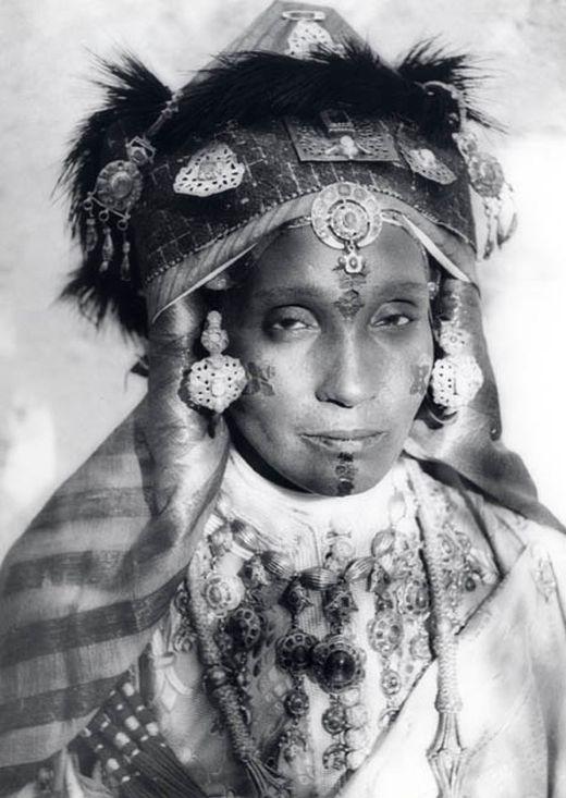 Иудейки Магриба на фото Жана Безансено (23 фото)