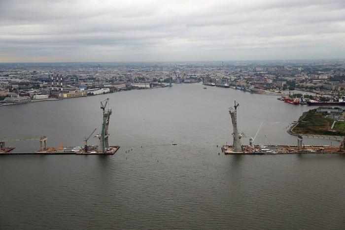 Фотоотчет о строительстве ЗСД в Санкт-Петербурге (51 фото)