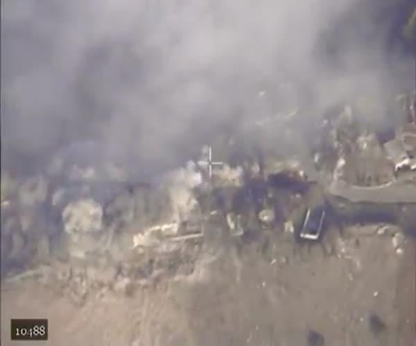 СУ-34 уничтожил подпольный завод «Исламского государства»