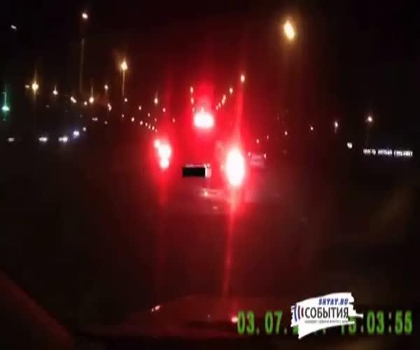 Нападение на автомобилиста в Казани