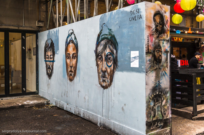 Уличное искусство в Лондоне (42 фото)