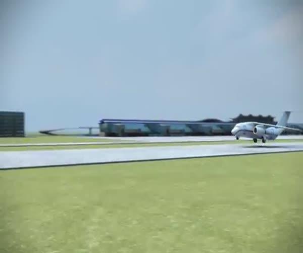 Концепт уникальной системы спасения пассажиров при крушении самолета