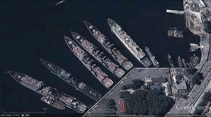 Военные объекты России на новых спутниковых снимках Google Earth (24 фото)