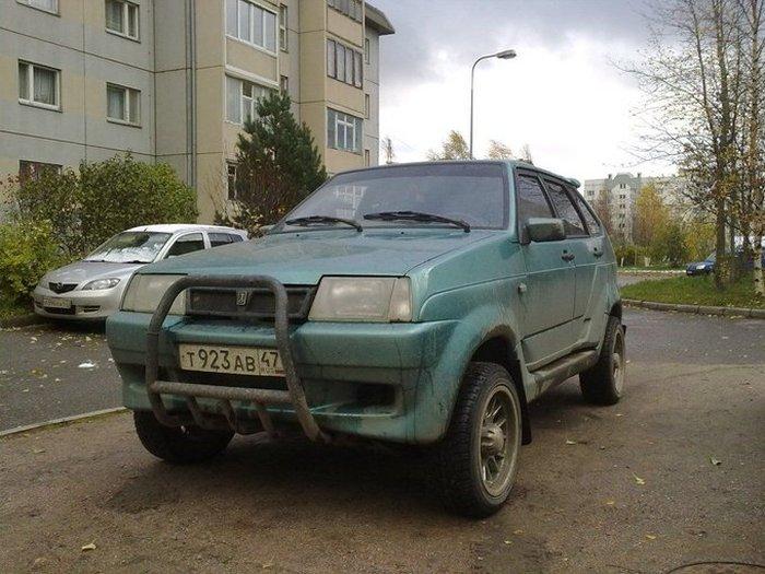 Уникальный внедорожник ВАЗ-210934 «Тарзан» - отзыв владельца (14 фото)