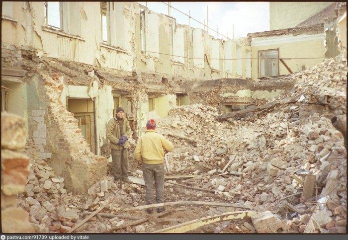 Москва образца 1997 года (39 фото + видео)
