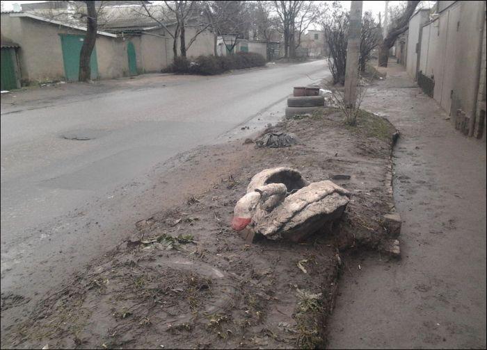Ужасы российских дворов (68 фото)