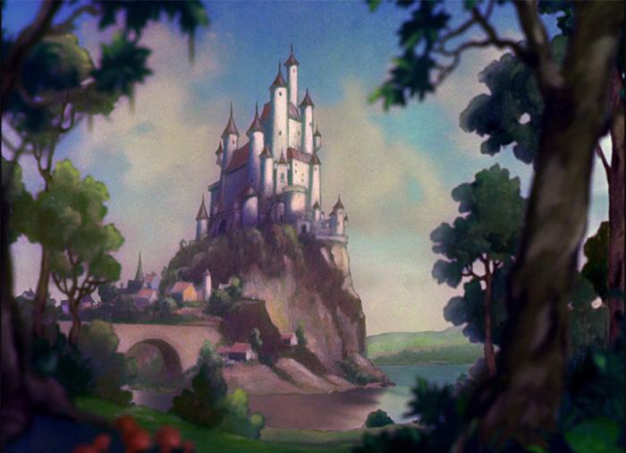 Реальные прообразы сказочных мест из диснеевских мультфильмов (36 фото)