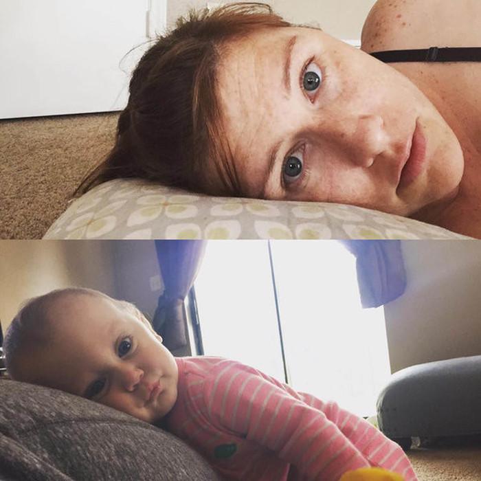 Селфи из повседневной жизни обычных мам (22 фото)