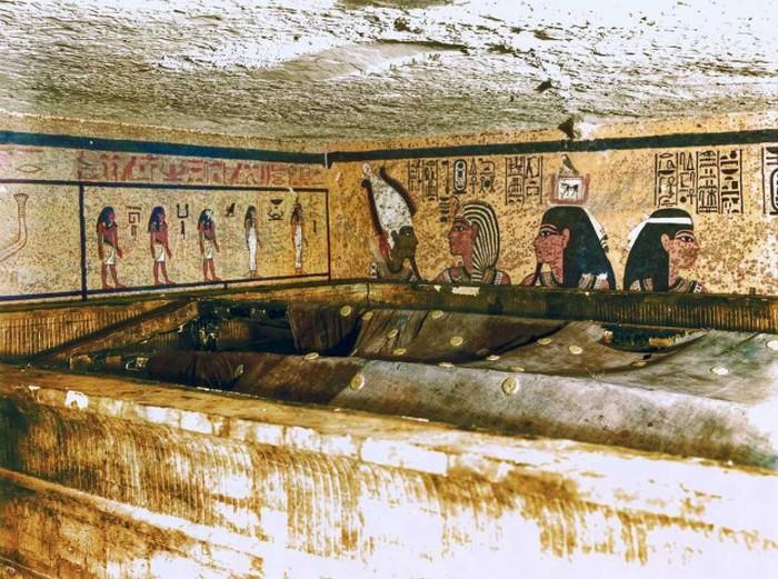 Вскрытие гробницы Тутанхамона, 1922 год (21 фото)