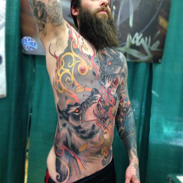 Невероятные татуировки Джеффа Гоугвэя (21 фото)