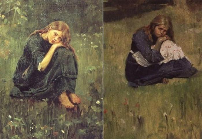 Как Виктору Васнецову удалось «оживить» образ сказочного героя в картине «Аленушка» (9 фото)