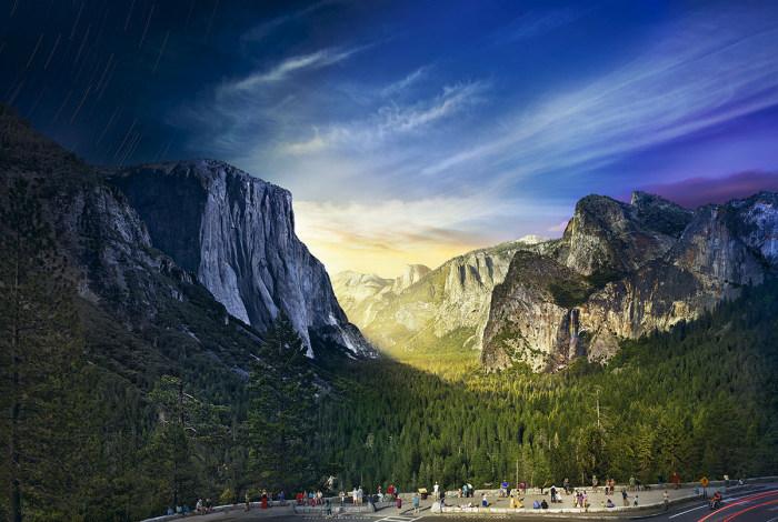 Встреча дня и ночи на удивительных панорамных снимках Стивена Вилкса (12 фото)