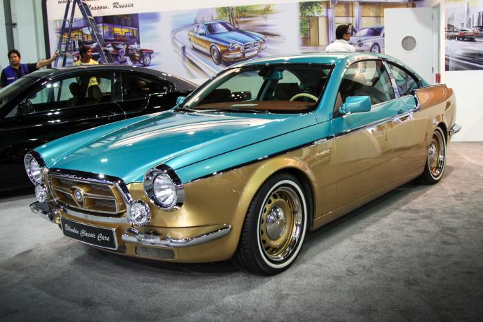 На автосалоне в Дубае представили российский автомобиль Bilenkin Vintage (13 фото)
