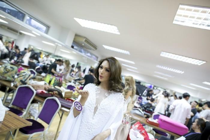 В Таиланде прошел финал конкурса красоты Miss International Queen 2015 среди женщин-трансгендеров (22 фото)