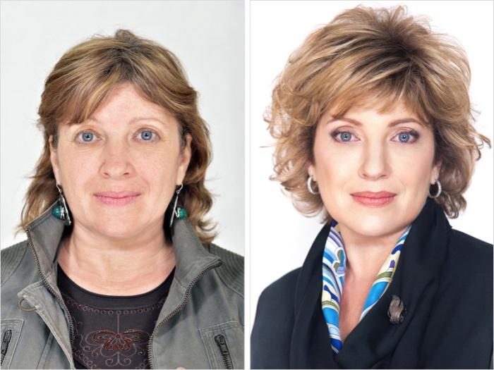 Стилист помогает преобразиться женщинам, которые недовольны своей внешностью (23 фото)