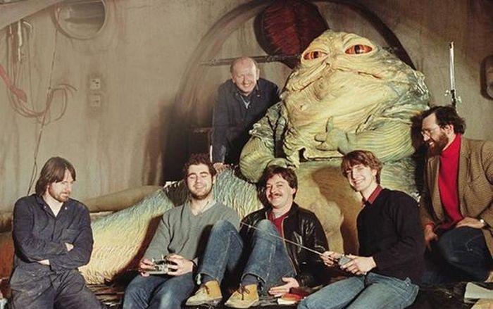 Секрет создания Джаббы Хатты из «Звездных войн» раскрыт (3 фото)