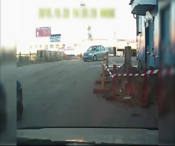 Дорожный экшн в Сыктывкаре