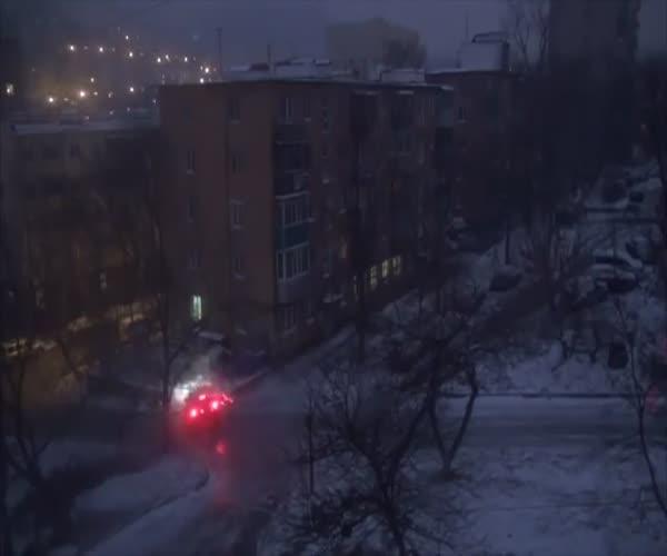 Заколдованный перекресток во Владивостоке
