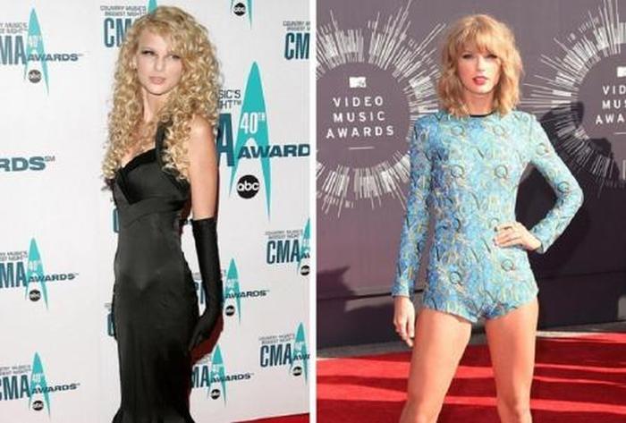 Как изменились звезды зарубежной поп-музыки с момента выпуска своих первых альбомов (15 фото)