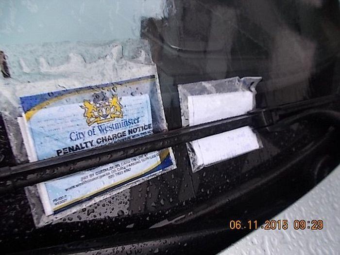 Лондонская полиция выписала 60 штрафов злостному нарушителю на BMW M6 с российскими номерами (3 фото + видео)