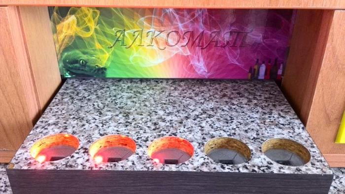 «Алкомат» - самодельный автомат по производству алкогольных коктейлей (26 фото + видео)