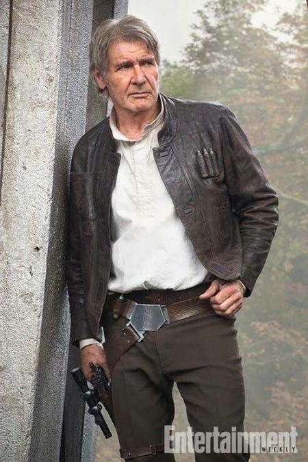 Харрисон Форд в роли Хана Соло из «Звездных войн» тогда и сейчас (2 фото)