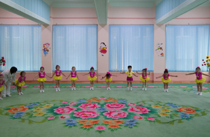 Kuzey Kore Kamu Binalar�n�n �� g�r�n�mleri