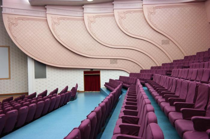 Интерьеры общественных зданий Северной Кореи (42 фото)
