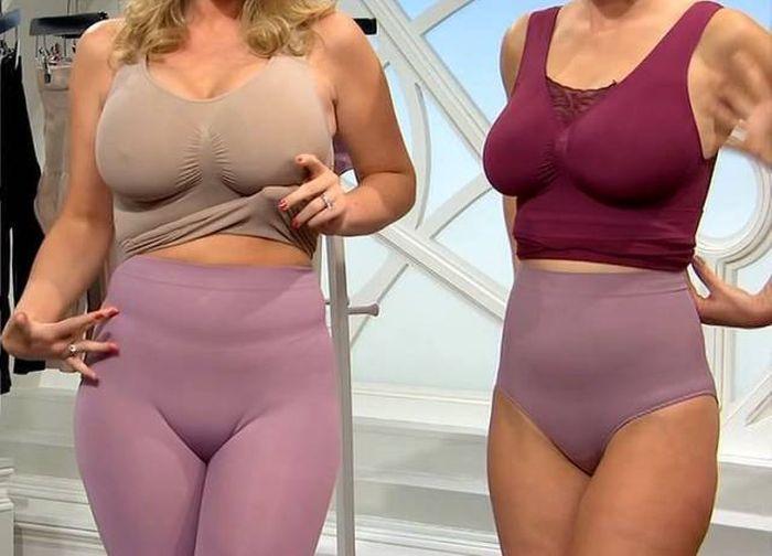 Великолепная реклама нижнего белья для похудения (12 фото)