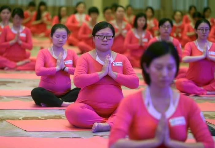 Çin'li Vatandaşların Günlük Yaşamı (61 fotoğraf)