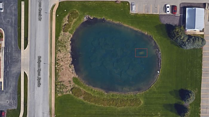 Спутниковые снимки карт Google помогли найти тело пропавшего без вести американца (2 фото)