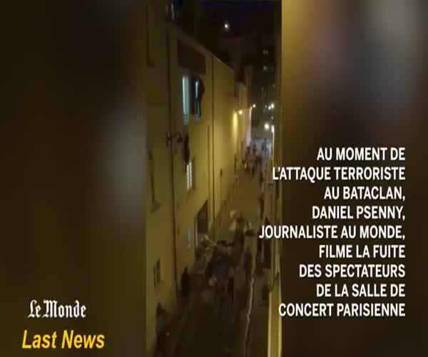 Нападение террористов на парижский ночной клуб Bataclan