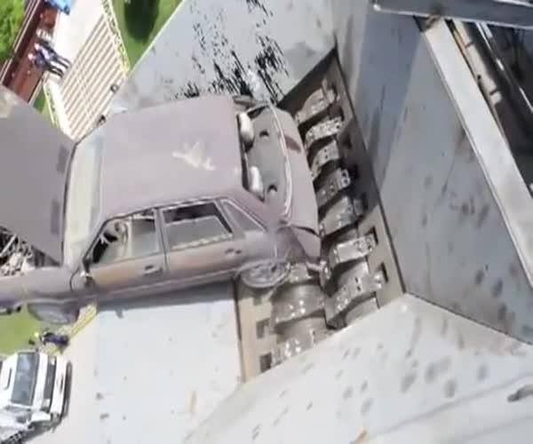 Уничтожение автомобиля