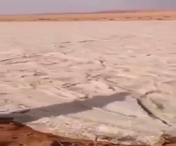 «Песочная река» в Саудовской Аравии