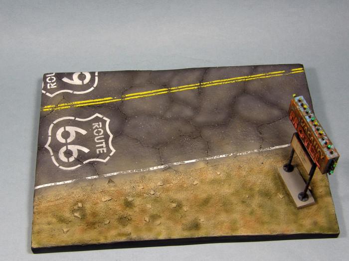 Интересная диорама с зомби-автобусом (57 фото)