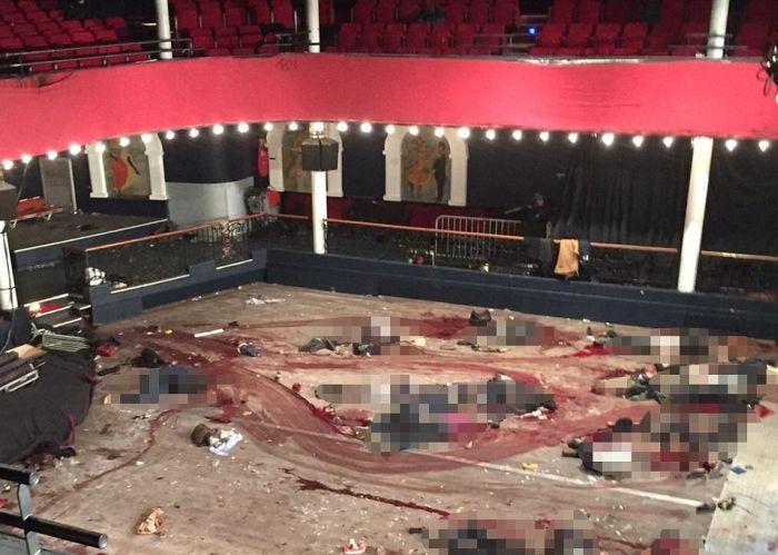 В сети появился снимок из клуба Bataclan после совершенного там теракта (5 фото)
