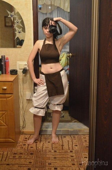 Самодельный костюм любительницы косплея (7 фото)