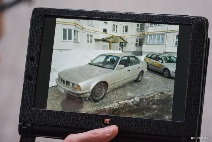 Как минчанин избавился от хаотичной парковки во дворе своего дома (12 фото)