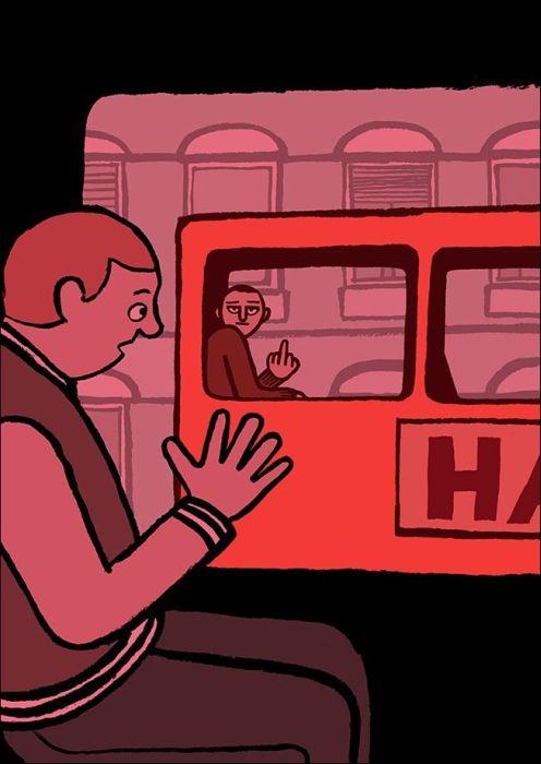 Зависимость современного человека от смартфонов в рисунках Жана Жюльена (20 картинок)