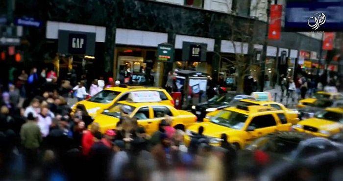 ИГИЛ опубликовал видео с угрозой устроить теракт в Нью-Йорке (3 фото + видео)