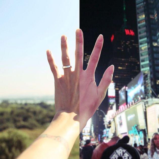 Расстояние не стало помехой для любви этой пары (13 фото)