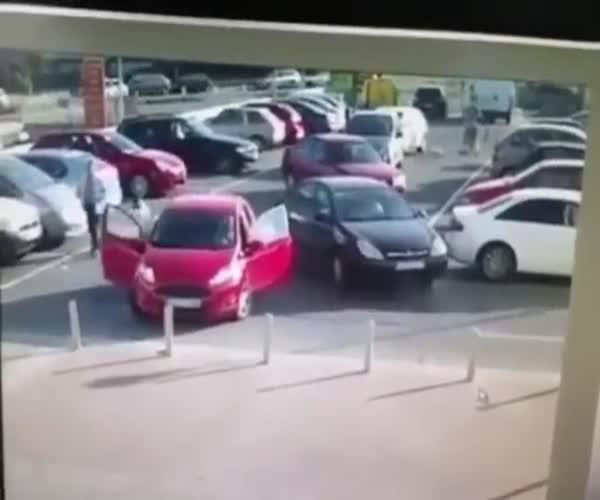 Конфликт на парковке с неожиданным финалом