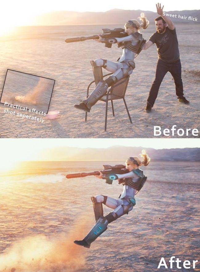Как создается косплей-фото (2 фото)