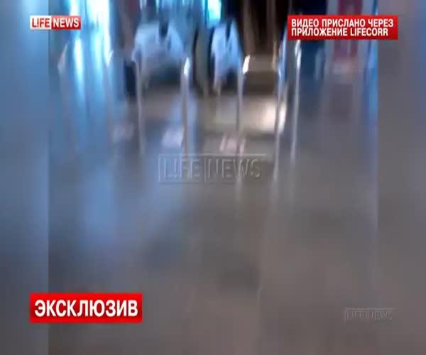 Сотрудник аэропорта Внуково снял видео о бреши в системе безопасности